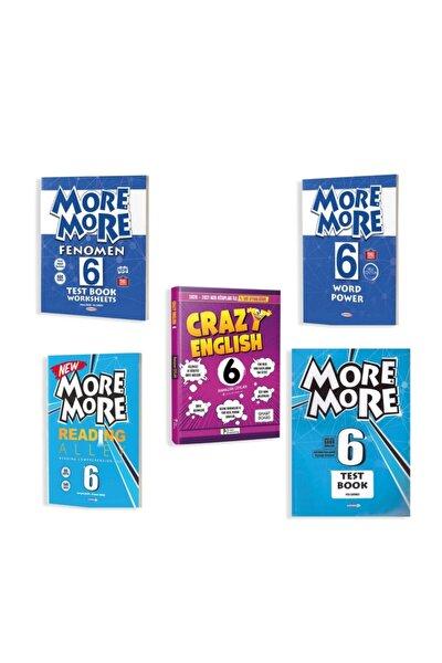 6.sınıf Ingilizce Geliştirici Set 5li=more More Fenomen/word Power/readıng Alley/test/crazy English