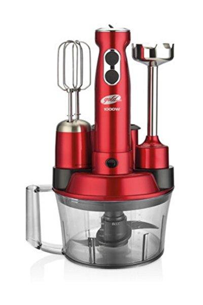 Kırmızı Elena Max Mutfak Robotu Gomgm7239k Gm-7239k