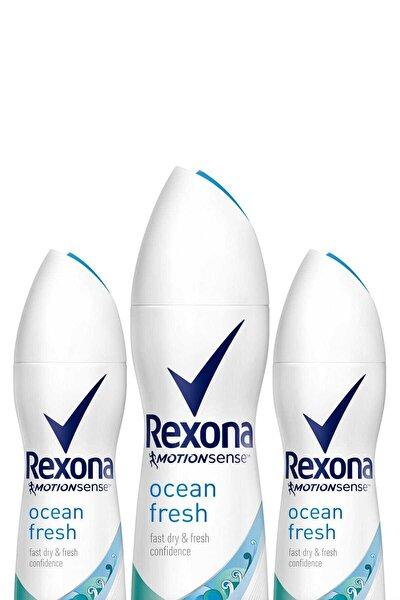 Kadın Deodorant Sprey Ocean Fresh 150 ml X 3 Adet