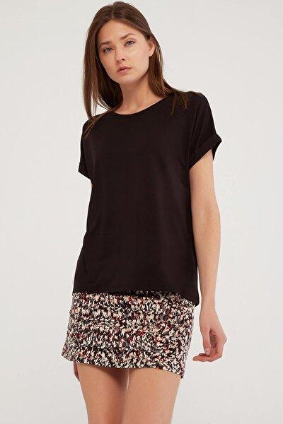 Kadın Siyah Tshirt