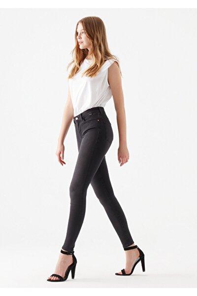 Kadın Alissa Gri Gold Lux Move Jean Pantolon 1067826937