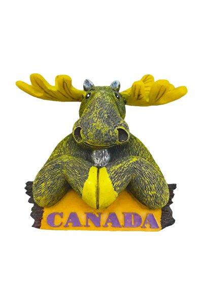 Amerika Şehirleri Kanada Buzdolabı Magneti