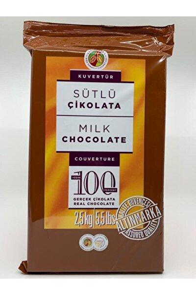 Kahve Dünyası Sütlü Kuvertür Çikolata 2,5 Kg.