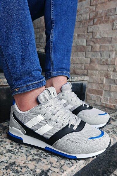 Erkek Gri Saks Sneaker Kw86309