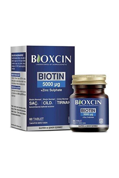 Biotin 5000 Mcg Takviye Edici Gıda 60 Tablet