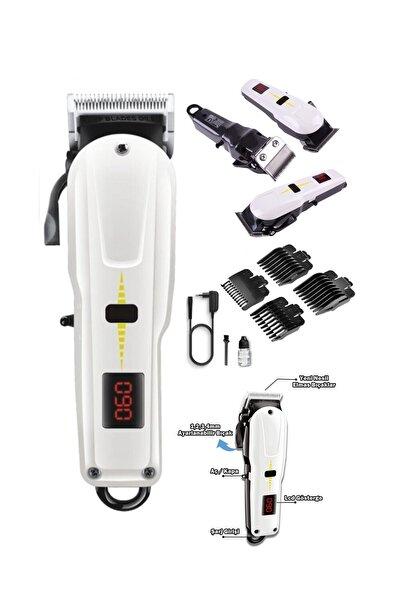 M-1018 Digitale Süper Taper Turbo Kablosuz Saç Kesme Makinesi Tıraş Makinesi