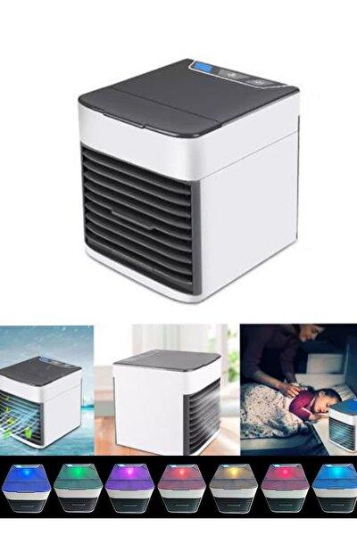 3 Fonksiyonlu Usb'li Mini Klima Hava Nemlendirici Temizleyici 7 Renk Işıklı