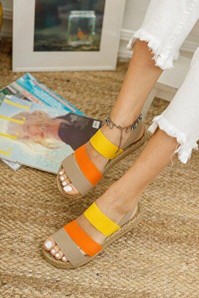 Kadın Lastikli Sandalet