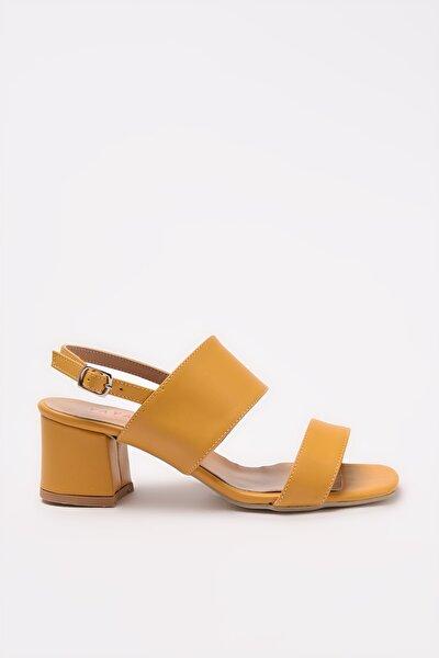 Hardal Kadın Sandalet 01SAY209530A350