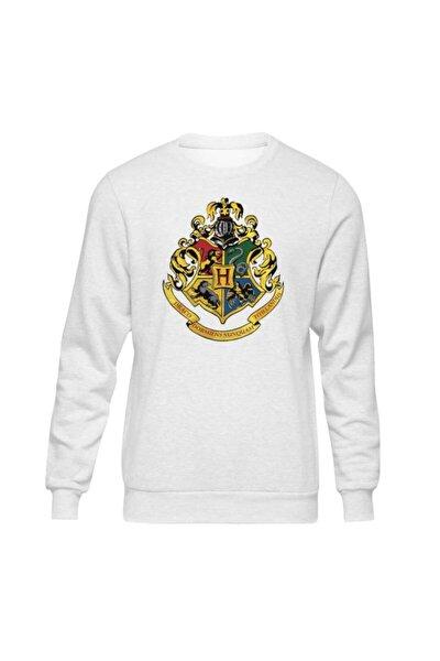 Harry Potter Hogwarts Iı Beyaz Sweatshirt