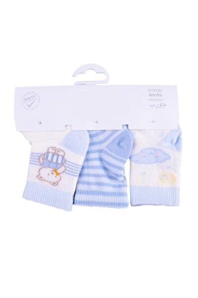 Üçlü Bebek Çorabı