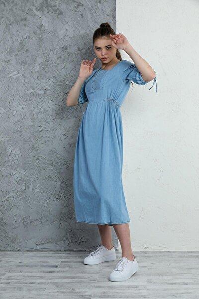 Kadın Kot Elbise