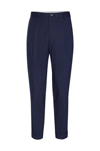 Erkek Mavi Pantolon Flex Tapered Regular Fit Pants TT0TT05107