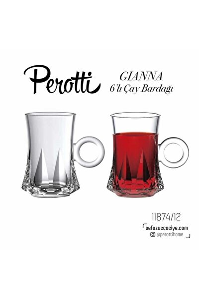 Gianna 6 Lı Çay Bardağı 11874