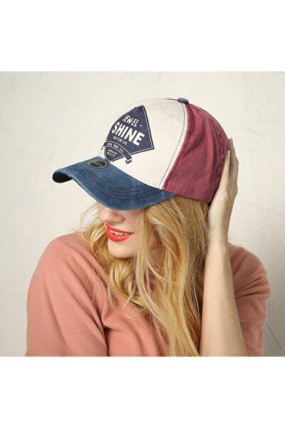 Jewel Shine Beyzbol Şapka Eskitme 2021 Model Şapka Lacivert