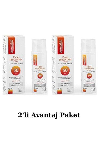 Face Protection Spf 50 Plus 50 Ml Güneş Kremi 2'li Avantaj Paket