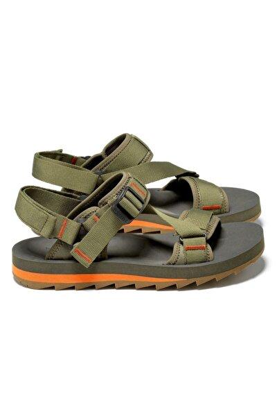 Erkek Yeşil  Alpine Strap Sandalet
