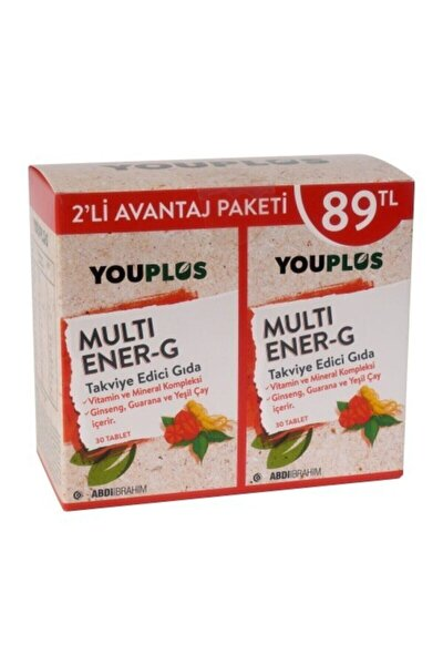 Multi Ener-g Multivitamin 2 X 30 Tablet