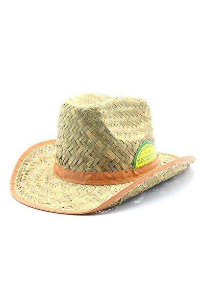 Hasır Kovboy Şapka
