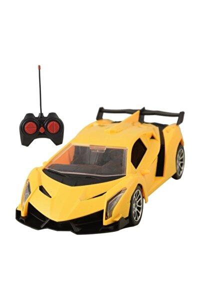 Uzaktan Kumandalı, 2.4 Ghz Şarjlı Farları Yanan 1:16 Mega Hız Fırtına Spor Araba
