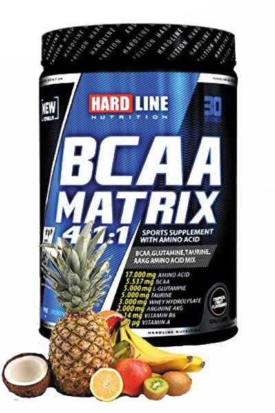 Bcaa Matrix 630 gr - Tropikal Meyve Aromalı