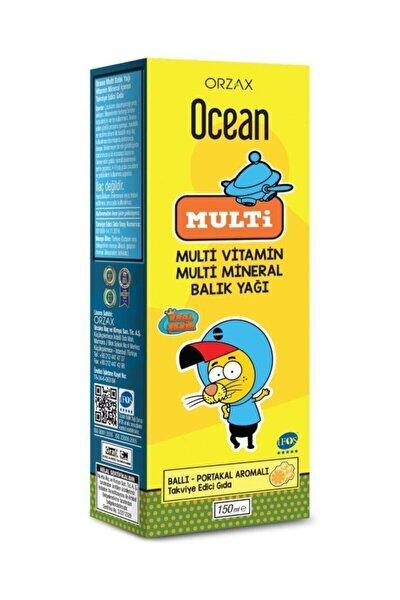 Multi Omega 3 Kral Şakir Şurup 150 ml