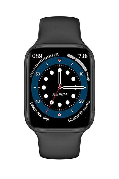 Akıllı Saat Watch 6 Plus Son Sürüm Tüm Özellikler Aktif Apple Iphone 11, 11 Pro Uyumlu