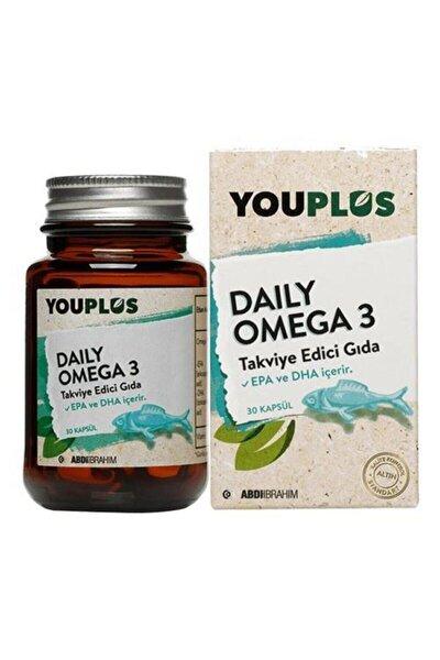 Daily Omega 3 Balık Yağı 30 Kapsül