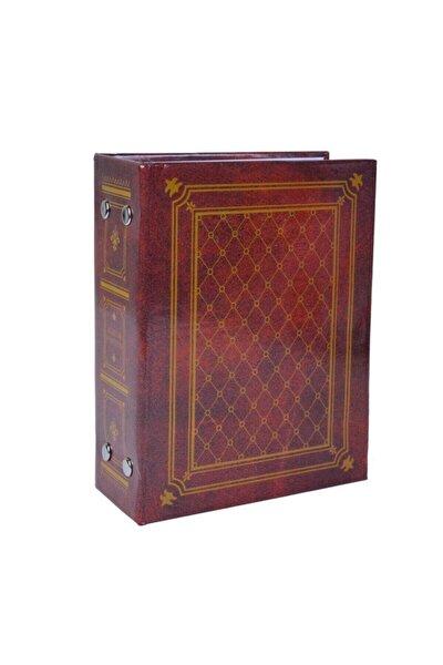 100'lük 10x15cm Deri Görünümlü Bordo Fotoğraf Albümü