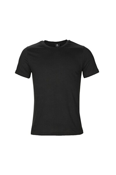 CT102 BASIC C NECK T-SHIR Siyah Erkek T-Shirt 100581714