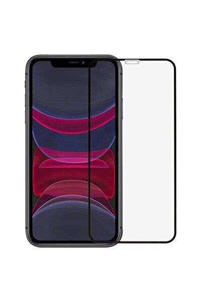 Siyah Iphone 11 Uyumlu Seramik Nano Ekran Koruyucu Tam Kaplayan Kırılmaz Esnek Cam
