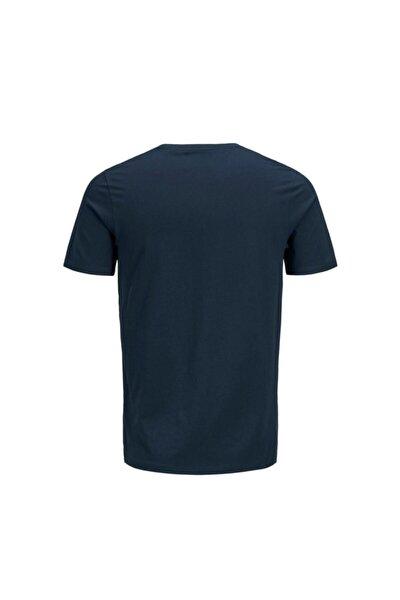 JJECORP LOGO TEE SS CREW Lacivert Erkek T-Shirt 101069453