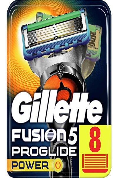 Fusion Proglide Power 8'li Yedek Tıraş Bıçağı