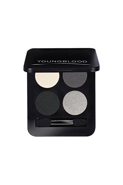 Youngblood Pressed Mineral Eyeshadow Quad 4'lü Far Paleti 4 Gr. (starlet. Gri Tonlar)