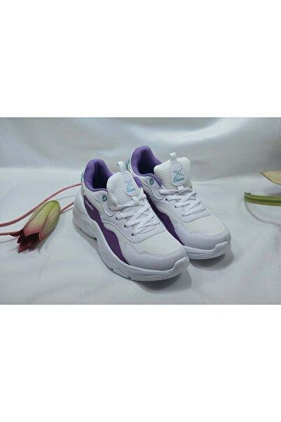 AURA MESH W 1FX Beyaz Kadın Sneaker Ayakkabı 100662629