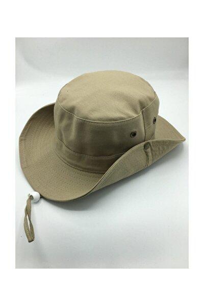 Unisex Yazlık Katlanabilir Safari Fötr Şapkası