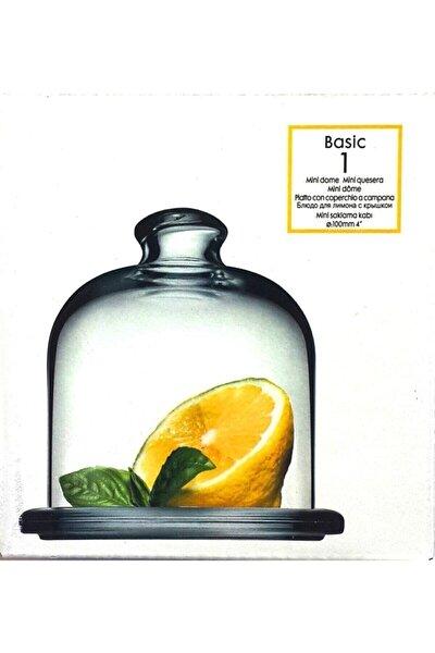 Basic Cam Limon Saklama Kabı Kapaklı