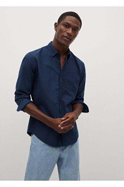 Erkek Regular Kesim Pamuklu Yumuşak Gömlek
