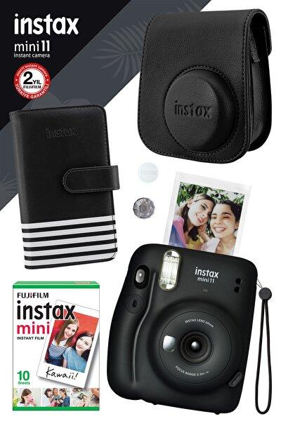 Instax Mini 11 Siyah Fotoğraf Makinesi Ve Hediye Seti 2