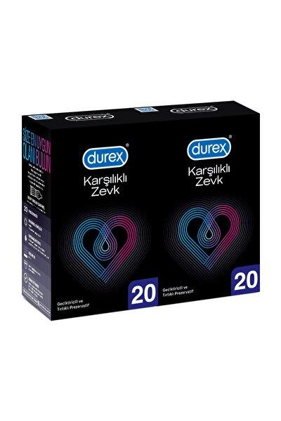 Karşılıklı Zevk Geciktiricili 40'lı Prezervatif Ekstra Avan