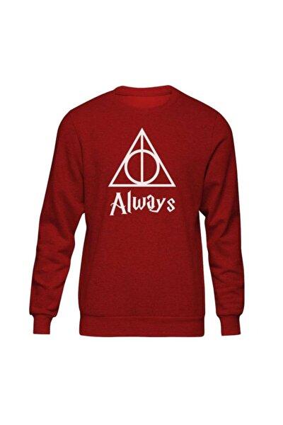 Harry Potter Always Iı Kırmızı Sweatshirt