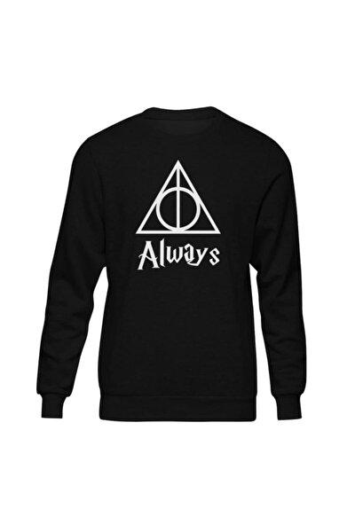 Harry Potter Always Iı Siyah Sweatshirt