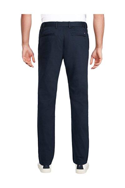 Erkek Mavi Pantolon Tapered Tech Stretch Twill Flex MW0MW11945