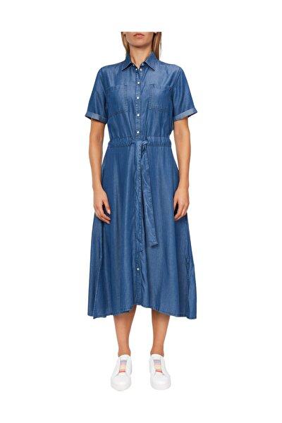 Kadın Denim Elbise Penny Dress Ss WW0WW24504