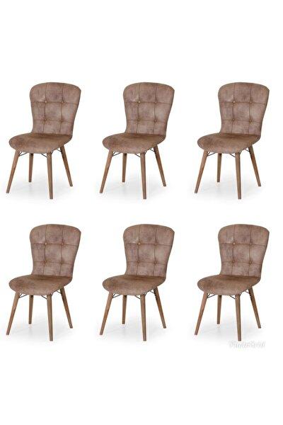 6 Adet Incebelli Sandalye