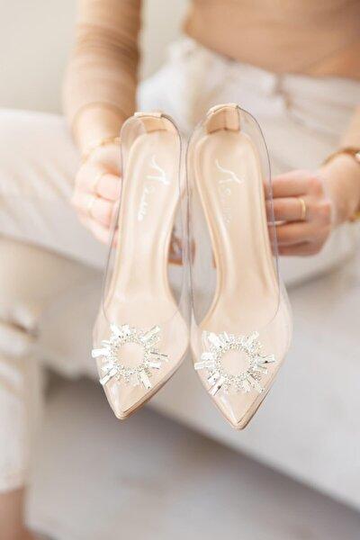Kadın Nude Topuklu Ayakkabı