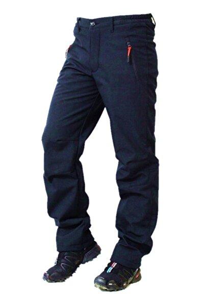 %100 Su Ve Rüzgar Geçirmez Içi Polarlı Lacivert Softshell Pantolon