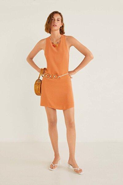 Kadın Turuncu Elbise 53010608