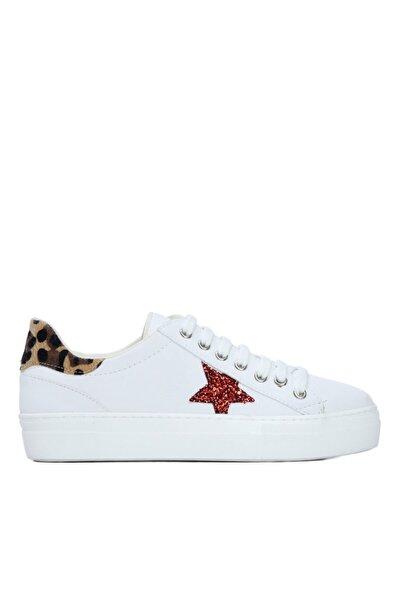 Kadın Beyaz Vegan Sneakers 845 403 Bn Ayk Y21