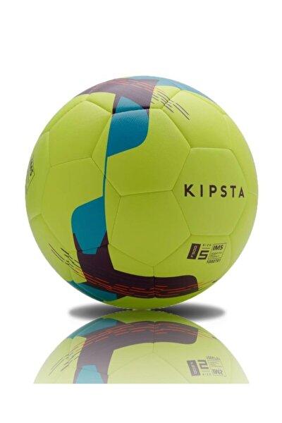 Hibrit Futbol Topu F500 Dikişli 445 Gr Neon Yeşil